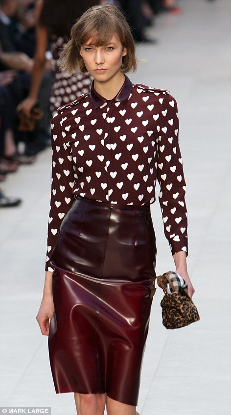 Burberry Prorsum at London Fashion Week, 2013