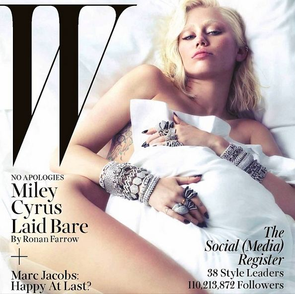 mileycyruswmag